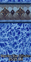 Megna Bayview Blue Diffusion 25/25 mil
